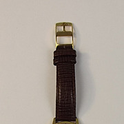 Gents Omega Gold Plated Manual Wristwatch