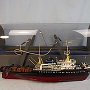 Scratch Built Radio Control Model Of Deep Sea Tug Boat Zwarte Zee