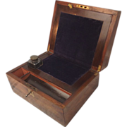 Circa 1900 Compact Oak Writing Slope