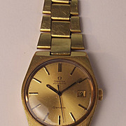 Gents Gold Plated Omega Automatic Wrist Watch 33370919