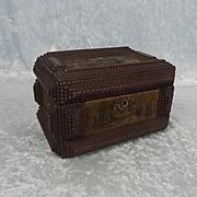 Handmade Military Soldiers Keepsake Box Poland 1905