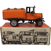 Boxed Model Of A German M.A.N. Diesel Lorry Old Timer Tank Wagon