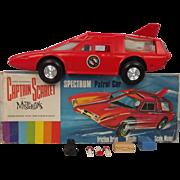 Boxed 1965 Captain Scarlet JR 21 Toys Friction Motor Spectrum Patrol Car