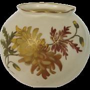 Graingers & Co. Worcester Blush Ivory Cache Pot
