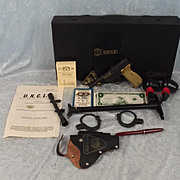 Circa 1966 The Man From UNCLE Lone Star Attache Case Playset