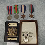 WW2 Military Medal For Bravery 737684 Pte. James Hislop RAMC Operation Blackcock Waldfeucht