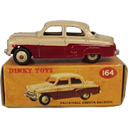 Dinky Toys No. 164 Vauxhall Cresta Saloon - Repro Box