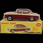 Dinky Toys No. 165 Humber Hawk - Repro Box