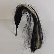 9th Lancer Black And White Horsehair Helmet Plume #2