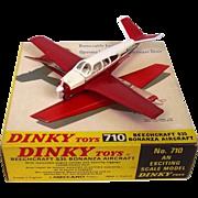 Boxed Dinky Toys 710 Beechcraft S.35 Bonanza #1