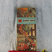 Boxed Corgi Toys 1127 - Simon Snorkel Fire Engine