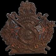 1911 Coronation Cast Iron Money Box