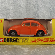 Corgi 383 Volkswagen 1200 Beetle Whizzwheels