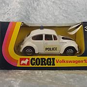 Corgi 384 VW 1200 White Police