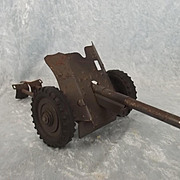 WW2 Hausser Tin Plate German PAK 36 AT