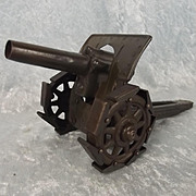 Circa 1920 Tinplate WW1 German 21cm Howitzer