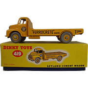 Boxed Dinky 419 Leyland Cement Wagon