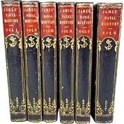 The Naval History of Great Britain By William James - Six Volumes - Published 1837 By Richard
