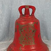 1942 RAF Bronze Scramble Bell