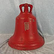 1940 RAF Red Bronze Scramble Bell