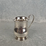 Sterling Silver Small Single Handled Cup
