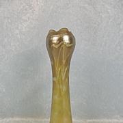 Circa 1905 Bohemian Kralik Aquagold Iridescent Glass Vase