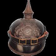 M1915 Bavarian Other Ranks Pickelhaube Helmet