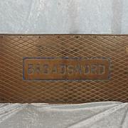 HMS Broadsword (F88) Bronze Tread Deck Plate – Type 22 Frigate