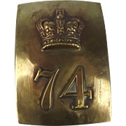 74th (Highland) Regiment of Foot Plate