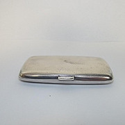 Birmingham 1912 Ladies Silver Cigarette Case