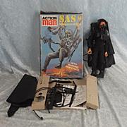 CPG Vintage Action Man SAS Parachute Attack & Eagle Eyed Action Man Doll