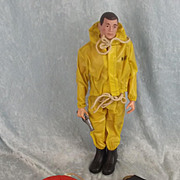 1964 Palitoy Action Man Breeches Buoy Rescue Set & Action Man Doll