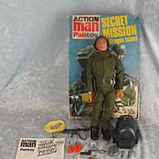Palitoy Vintage Action Man Secret Mission To Dragon Island Set & Box