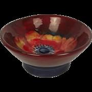 Moorcroft Flambé Anenome Pattern Small Bowl 1928-1949