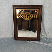 Will's Gold Flake Cigarettes Advertising Mirror