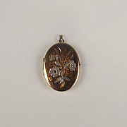 9ct Yellow Gold Locket Pendant
