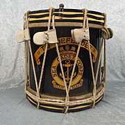 1941 Dated Sea Cadet Corps T.S. Defender Regimental Side Drum By Premier