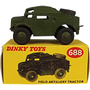 Dinky Toys 688 Field Artillery Tractor 1957-61