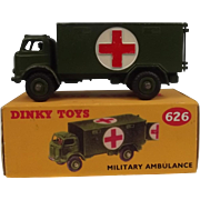 Dinky Toys 626 Military Ambulance 1956-61