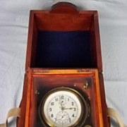 Cased Russian Naval Chronometer