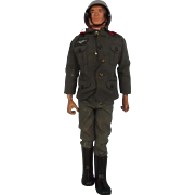 2nd Issue German Stormtrooper Uniform & Circa 1970 Action Man