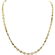 Estate Yellow Gold Chain Necklace