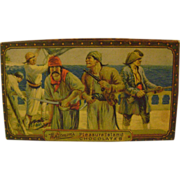 Vintage Whitman's Pleasure Island Chocolates Box