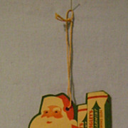 Vintage Spearmint Gum Santa Advertising pc