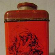 Vintage Dream Girl Talcum Powder Tin
