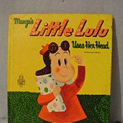 Vintage Little Lulu Tell-a-Tale Book