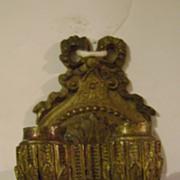 Vintage Brass Dollhouse or Salesman Sample Sconce