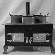 Vintage Small Toy Kitchen Stove