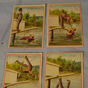 Vintage Advertising Trade Cards for A & P Co.