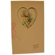 Vintage Kewpie Valentine Card